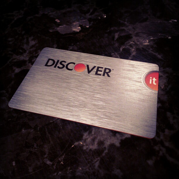 Multiple Discover Cards