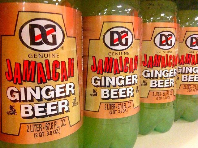 Ginger Beer in the Grocery Store