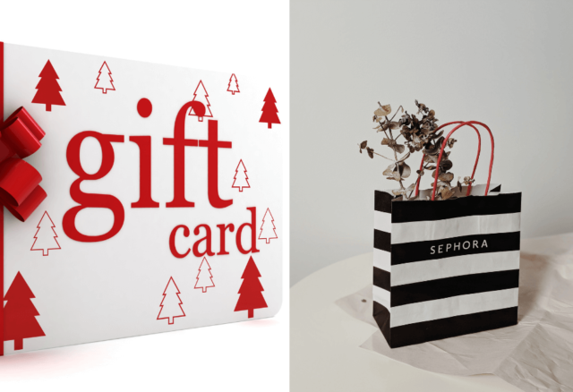 how to use sephora gift card